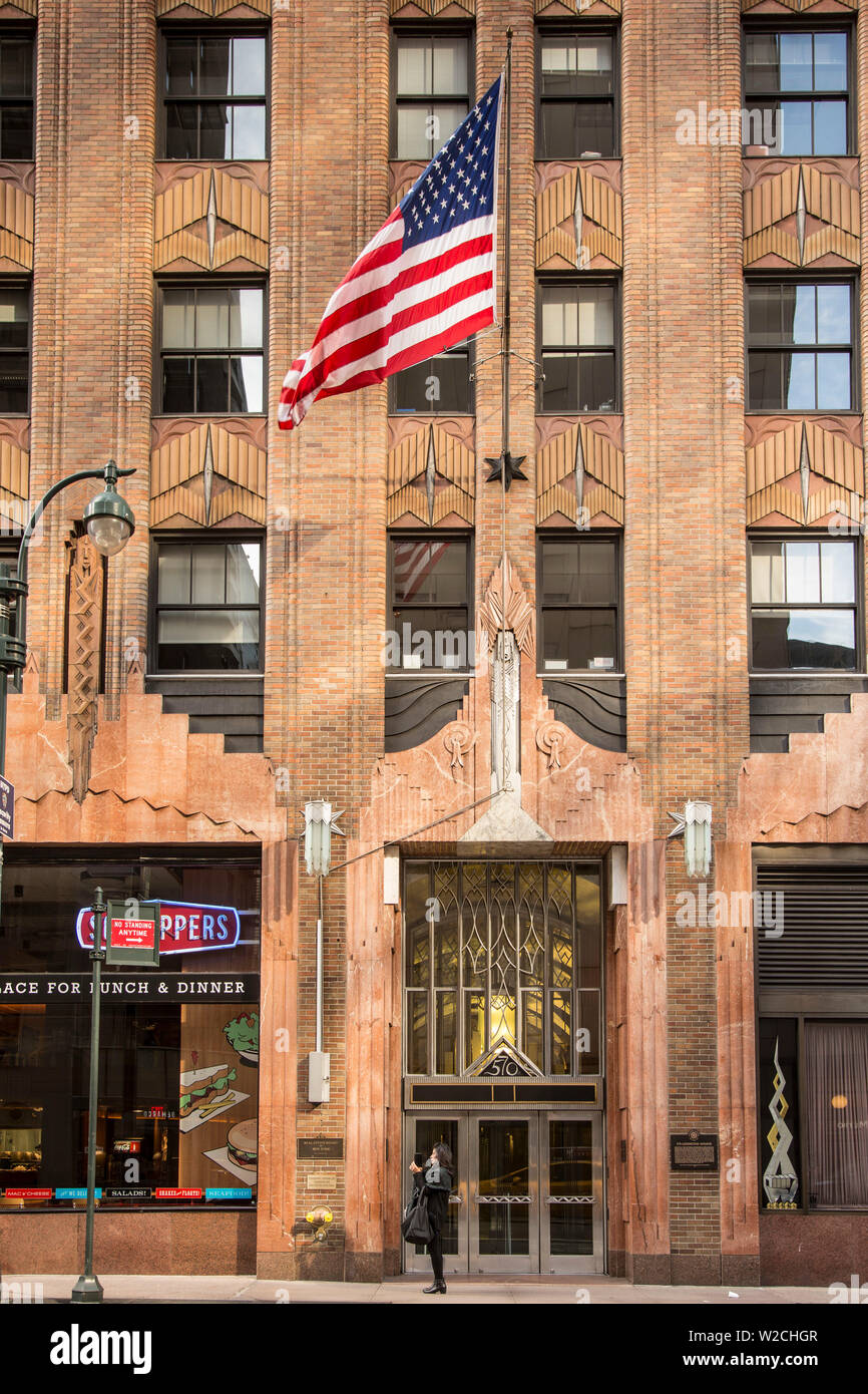 Lexington Avenue, Manhattan, New York City, New York, USA Banque D'Images