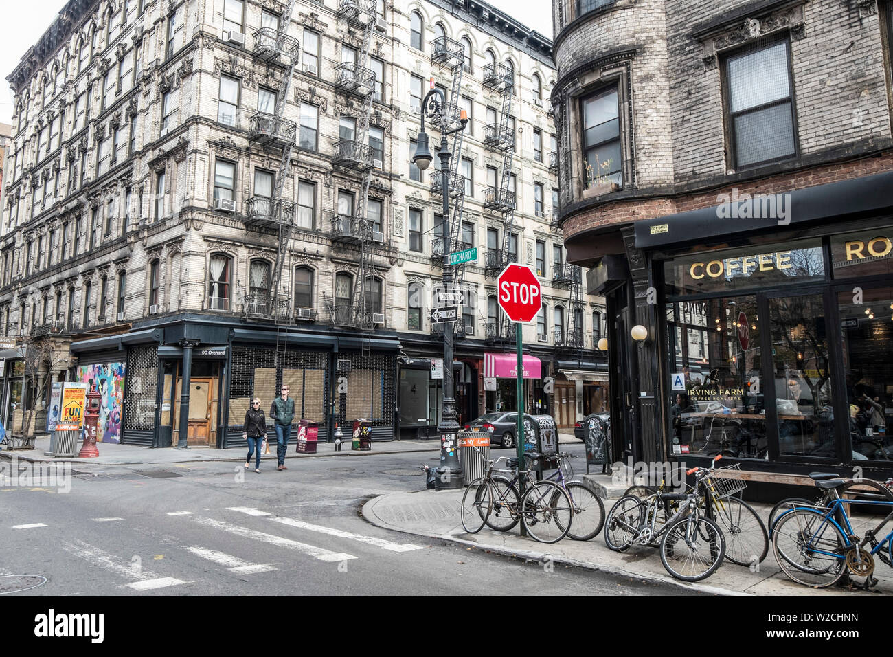 Lower East Side, Manhattan, New York City, New York, USA Banque D'Images