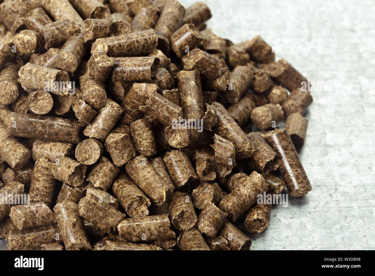 Ressource. Bois sur la table Photo Stock