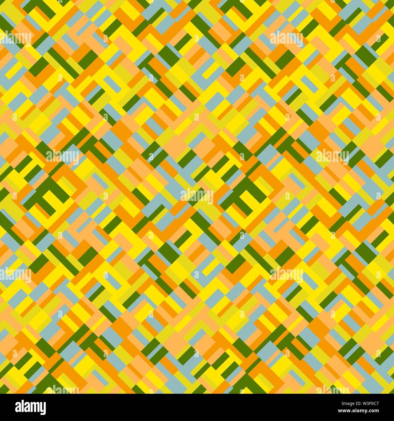 Transparent coloré motif géométrique diagonale arrière-plan - abstract vector illustration Photo Stock