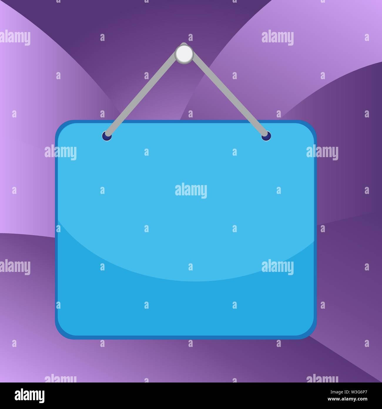 Note de rappel de couleur plateau vide espace fixer le rectangle d'arrière plan Design business copie vide texte espace pour la promotion de site web Ad Bann isolés Photo Stock