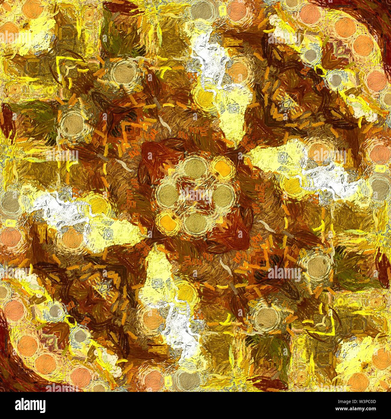 Résumé arrière-plan modèle d'or pour créer des carte design, flyer, bannière ou créatif production imprimée. Décor numérique ou graphique web. Liquid Photo Stock