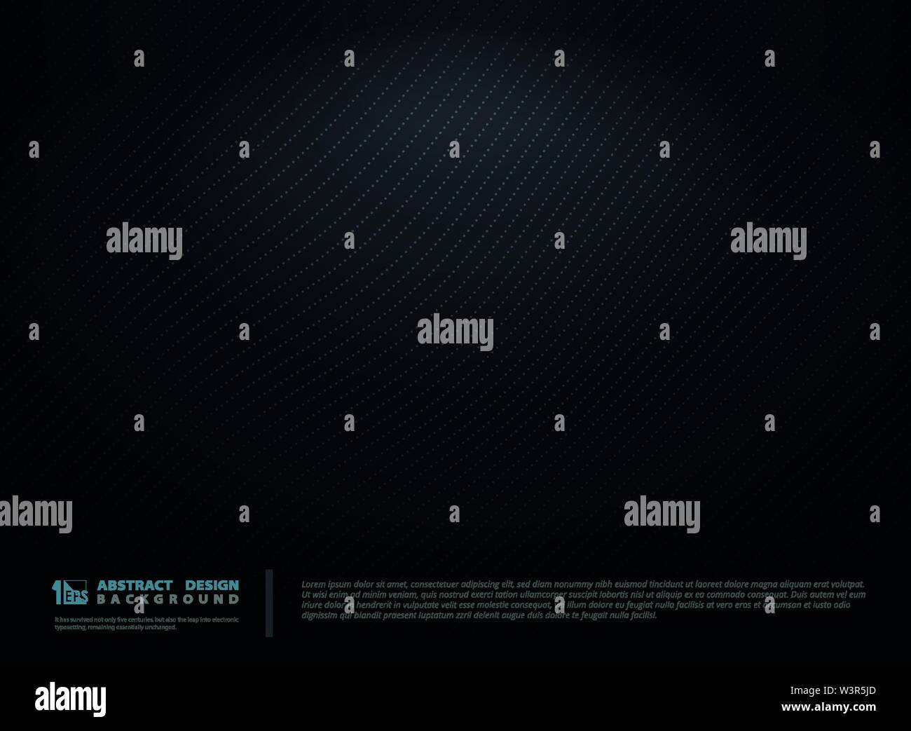 Abstract pattern design noir dégradé tech arrière-plan. Vous pouvez utiliser pour l'arrière-plan, la présentation ad ad, illustrations, conception du modèle vecteur illustration. Photo Stock