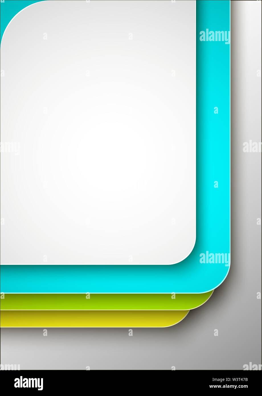 Résumé de la couverture ou modèle de conception de l'affiche. Photo Stock