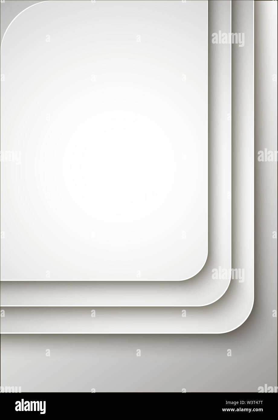 Résumé de la couverture ou modèle de conception de l'affiche. Vector illustration. Photo Stock