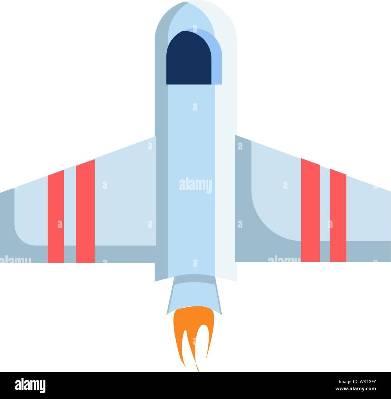 Une navette spatiale qui est prêt à voler, Scénario, dessin en couleur ou d'illustration. Photo Stock