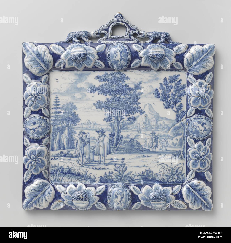datant de Delft poterie marques