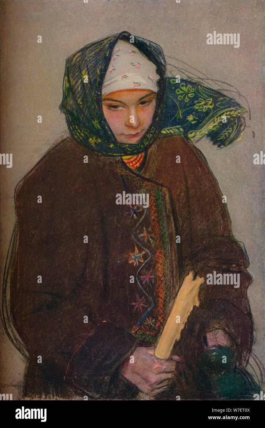'Un ruthène de paysan', c1907. Artiste: Theodor Axntowicz. Banque D'Images