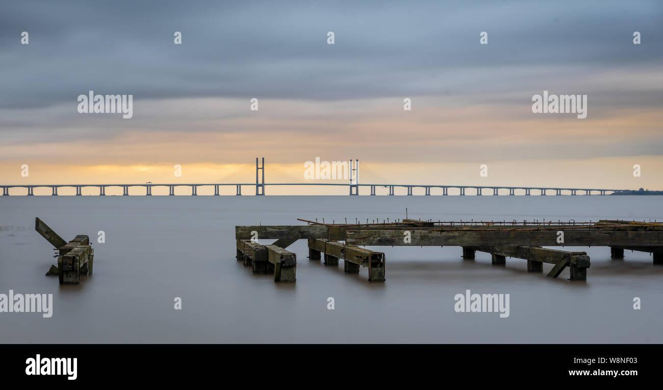 Severn Bridge Banque D'Images