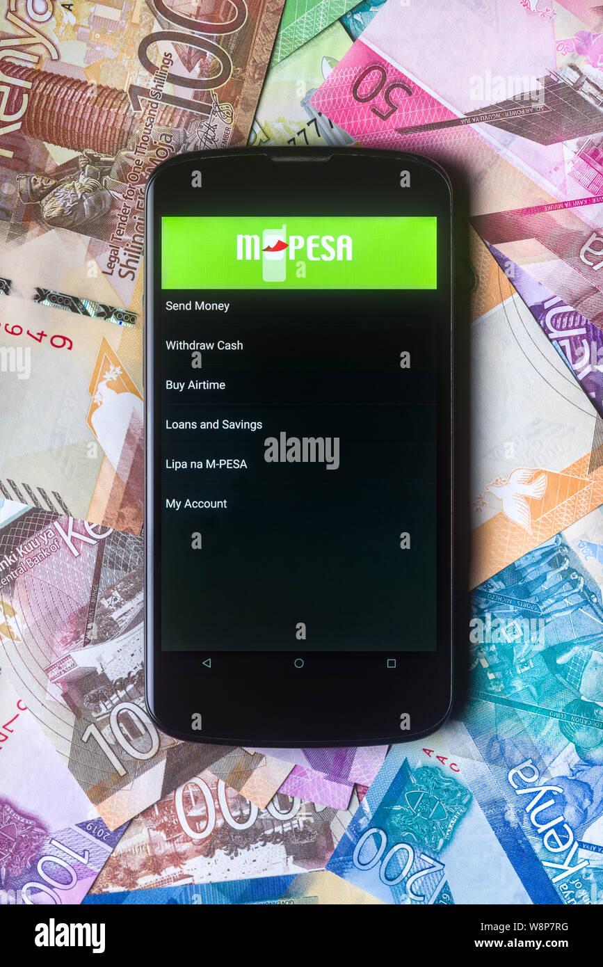 téléphone mobile datant au Kenya site de rencontre de Ndola