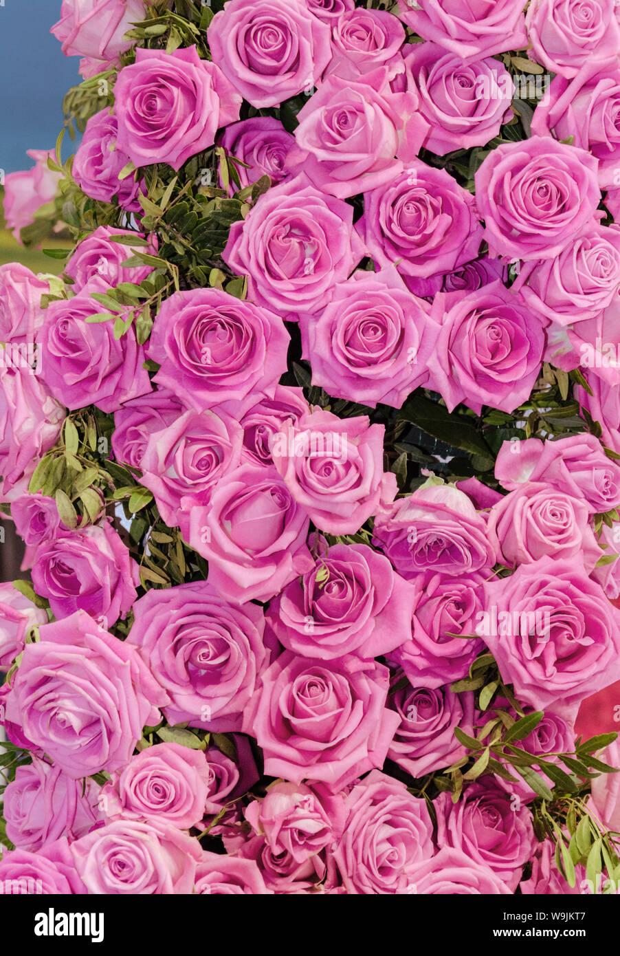 Decor De Roses Naturelles Un Beau Bouquet De Roses Pour Les