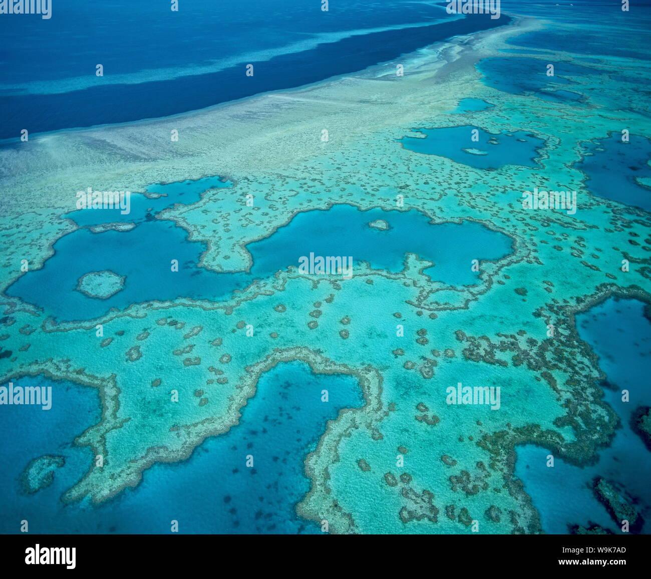 Grande Barrière de Corail, site du patrimoine mondial de l'UNESCO, Queensland, Australie, Pacifique Banque D'Images