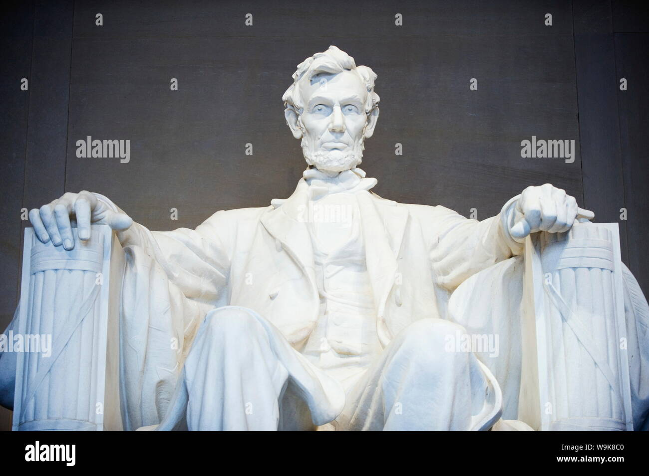 Lincoln Memorial, Washington D.C., Etats-Unis d'Amérique, Amérique du Nord Banque D'Images
