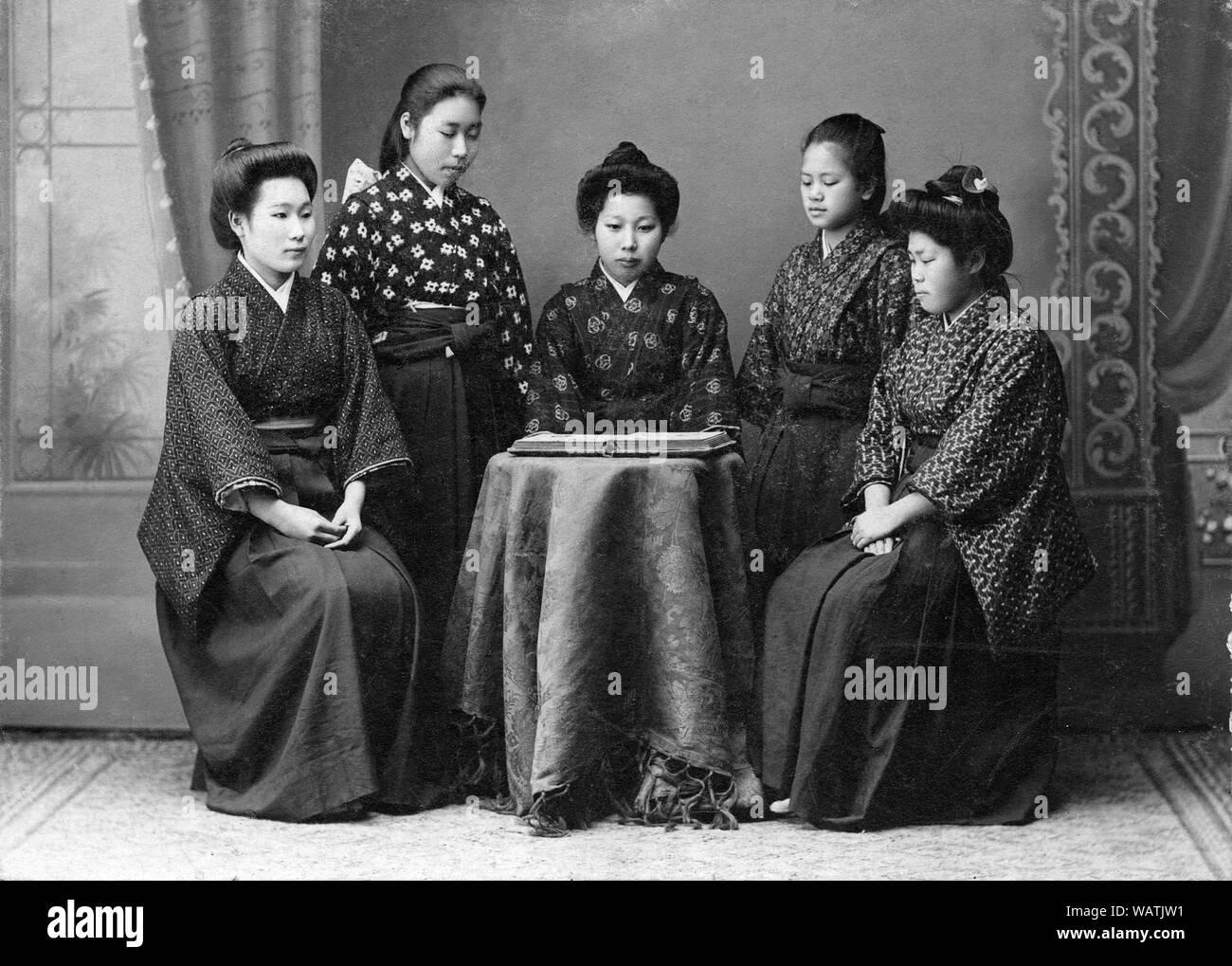 Dames japonaises pour la datation