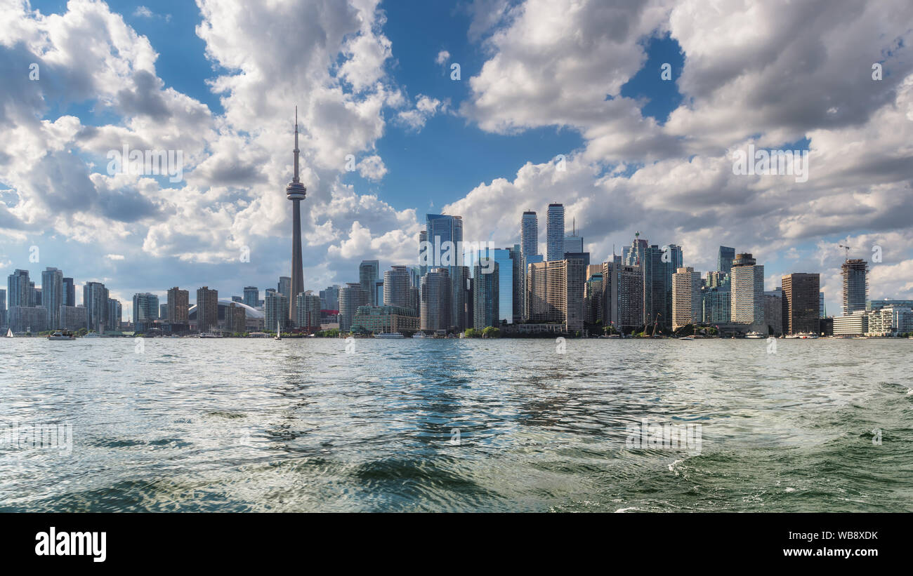 Toronto City skyline Banque D'Images