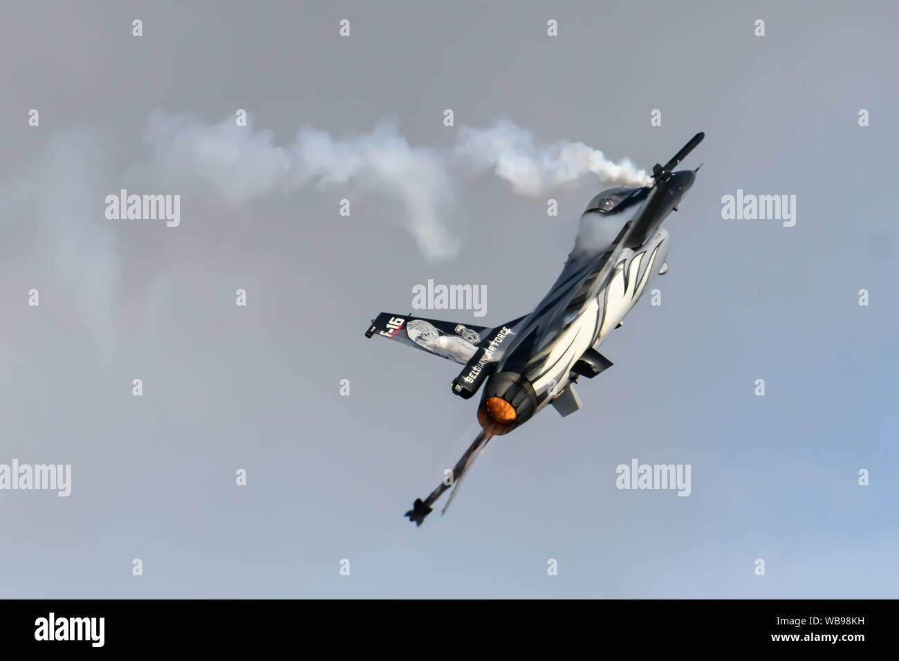 F-16 Fighting Falcon Jet Aircraft Banque D'Images