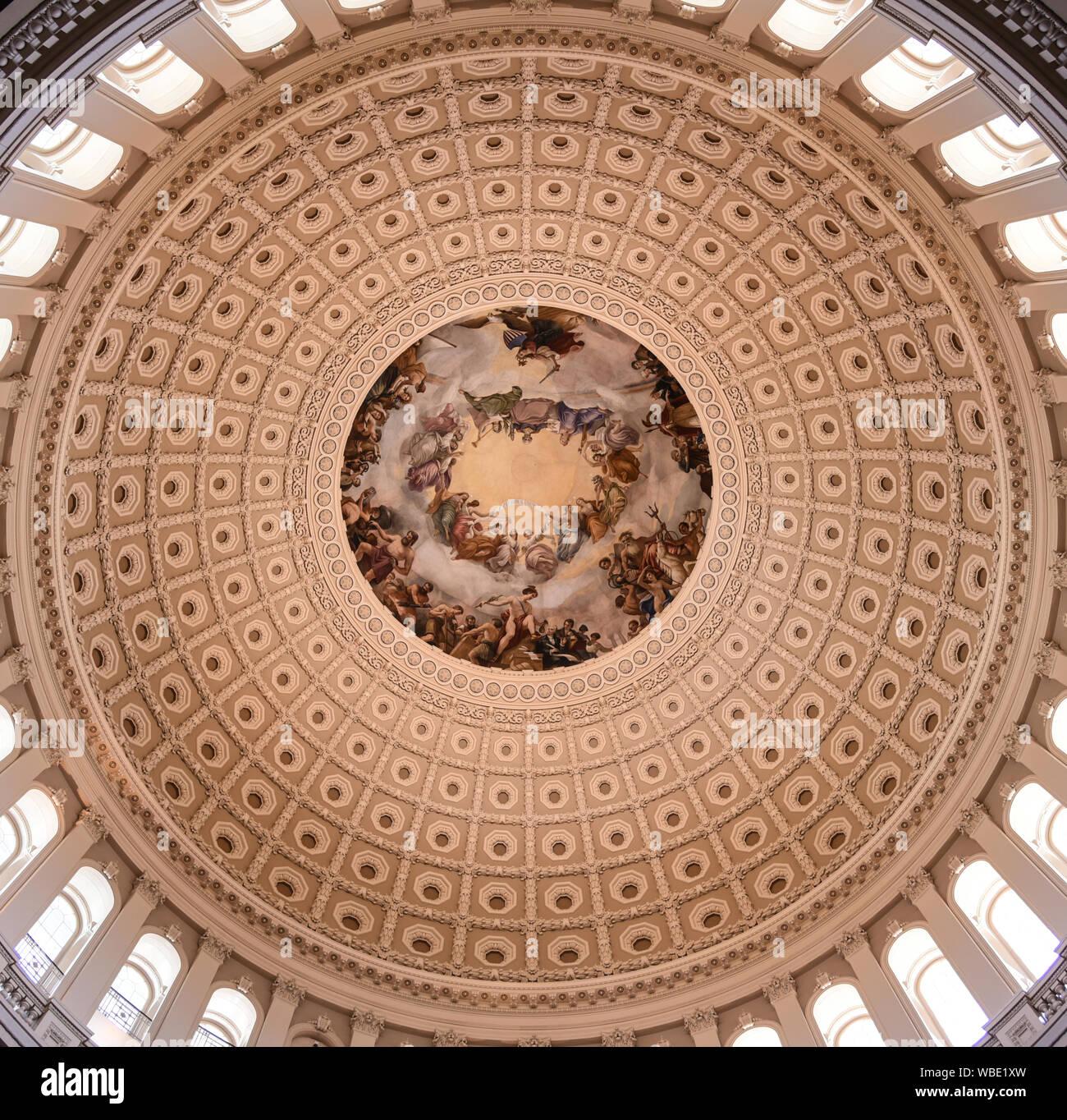 L'apothéose de Washington Banque D'Images