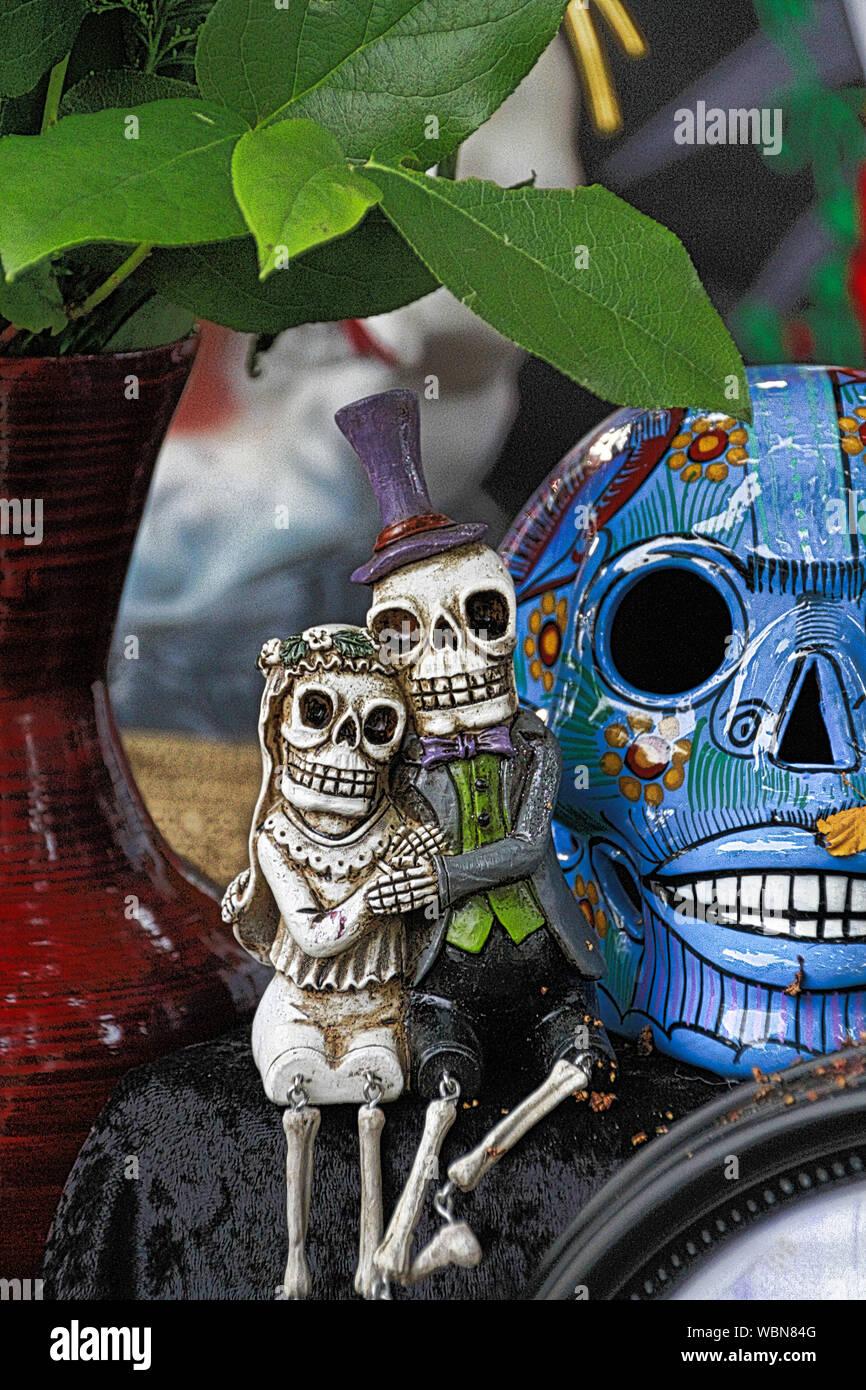 Close-up de figurines Vase par Banque D'Images