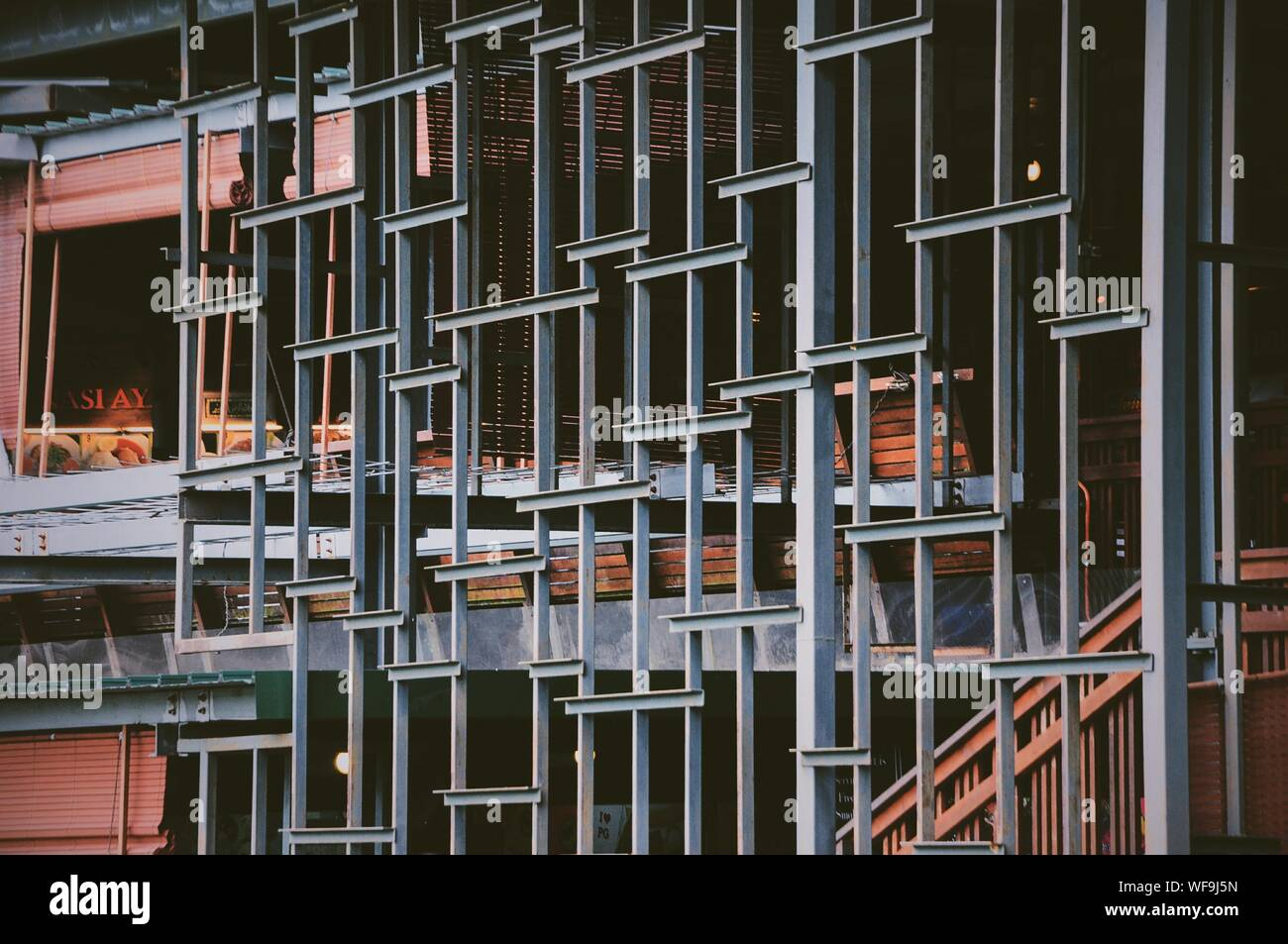 Structure métallique Banque D'Images