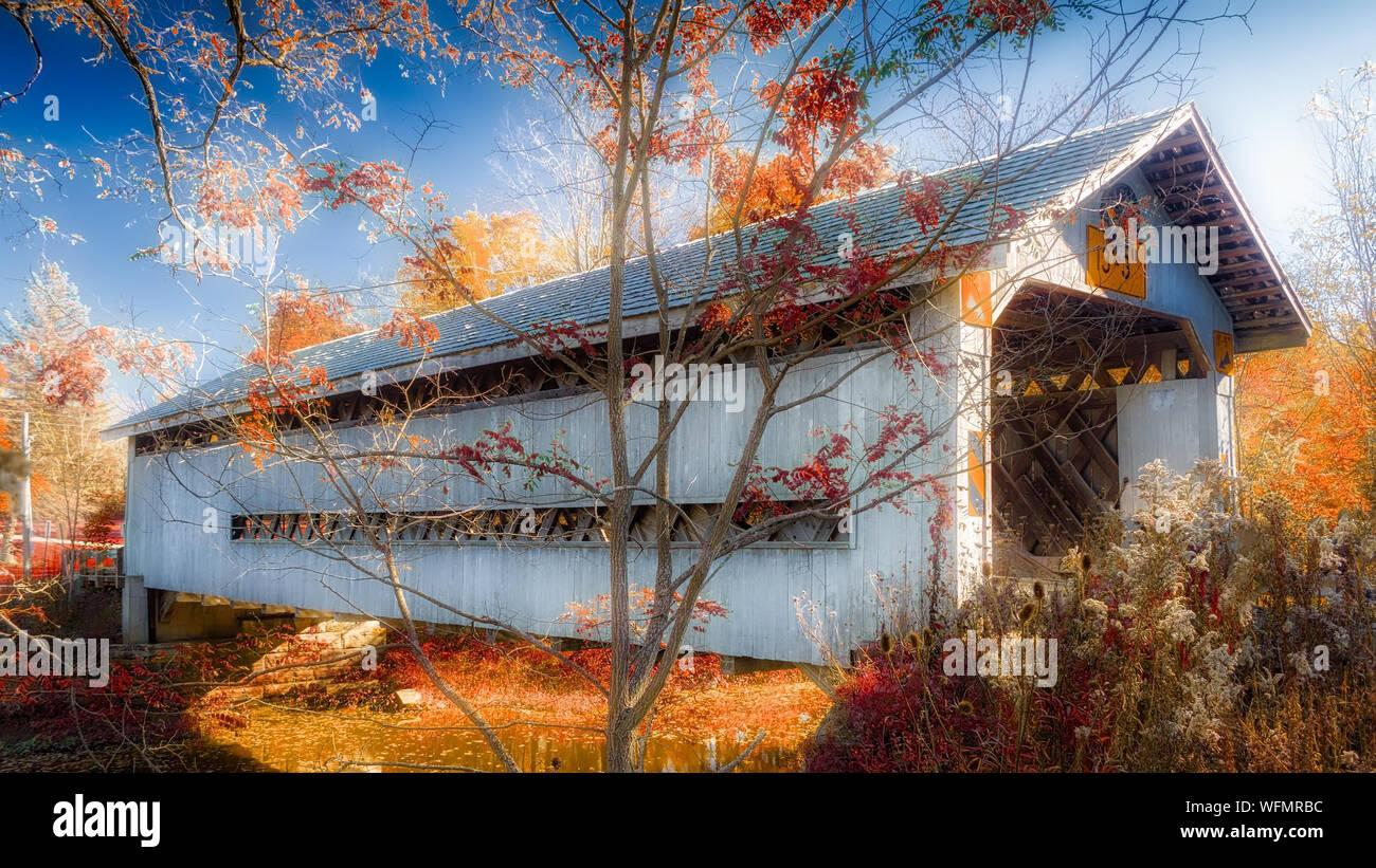Vue de la structure intégrée Banque D'Images