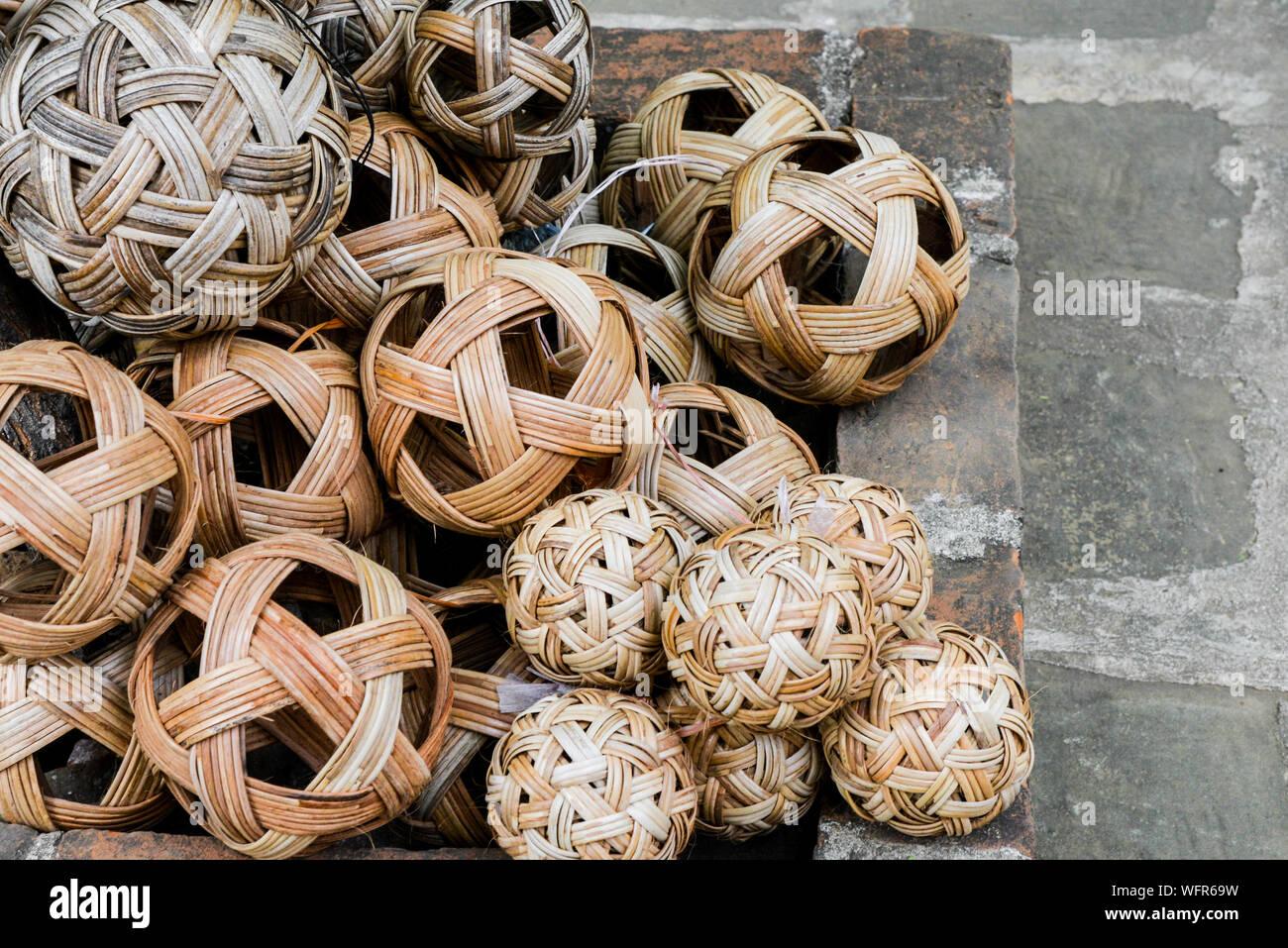 Portrait de ballons Banque D'Images