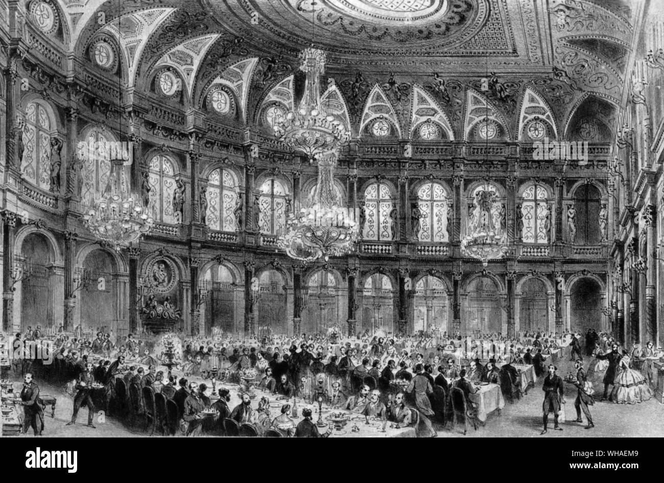 Salle A Manger Paris la salle à manger du grand hôtel paris construit sous le