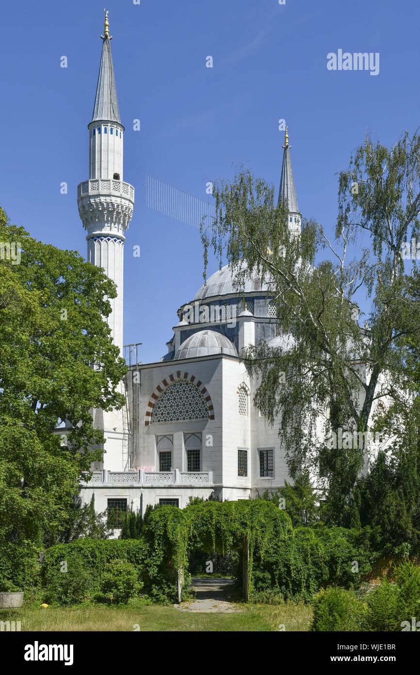 Voir, l'architecture, à l'extérieur, à l'extérieur, la vue extérieure vue extérieure, Berlin, Allemagne, barrage, Colombie-Britannique, building, immeuble, église, Islam, islamique, islamique, Banque D'Images