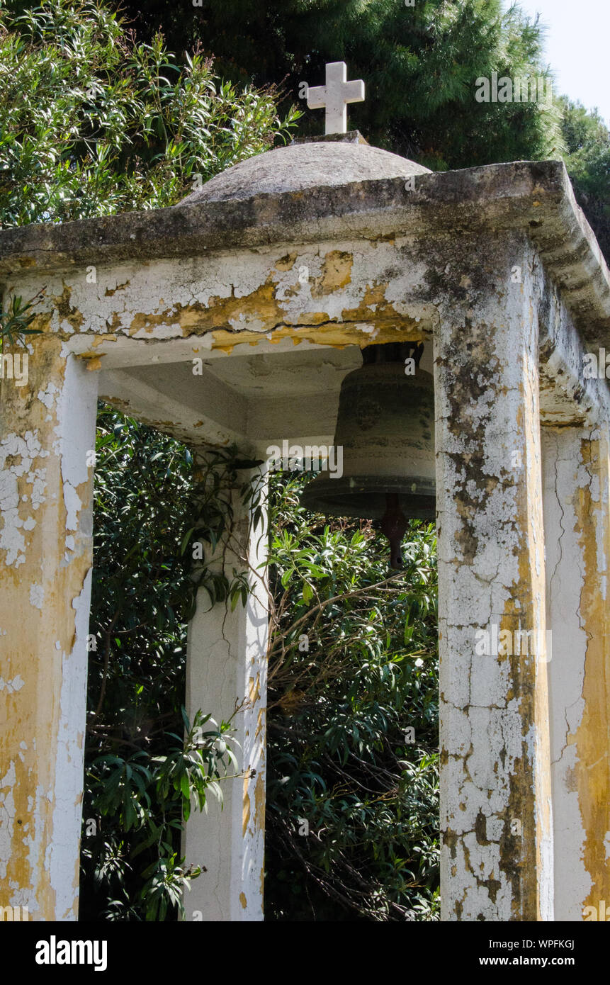 Ancienne structure intégrée Banque D'Images