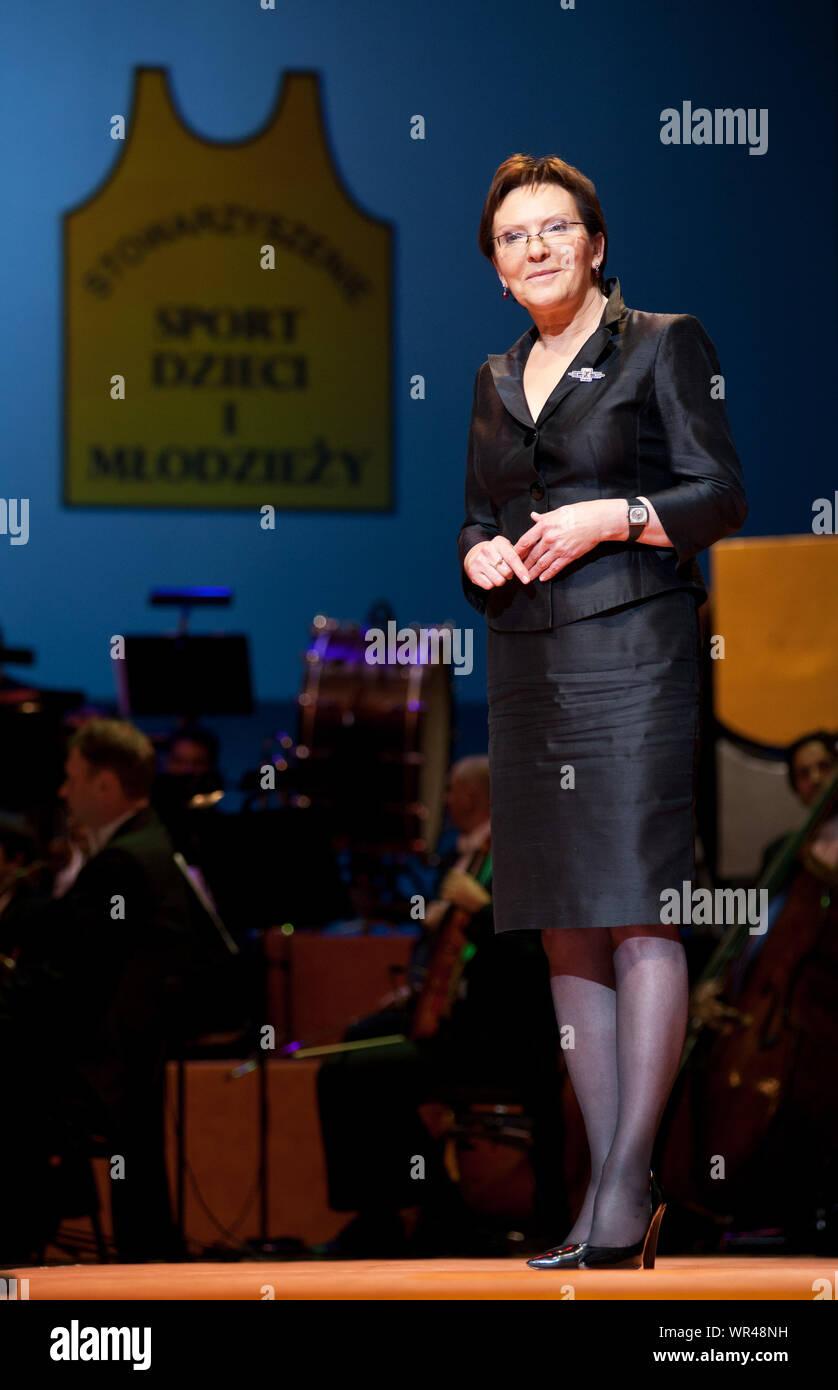 14.10.2009 Varsovie, Pologne. 'Teraz Polska' gala. Sur la photo: Ewa Renseignements utilisées Clinical Toxicology of Commercial Products Banque D'Images