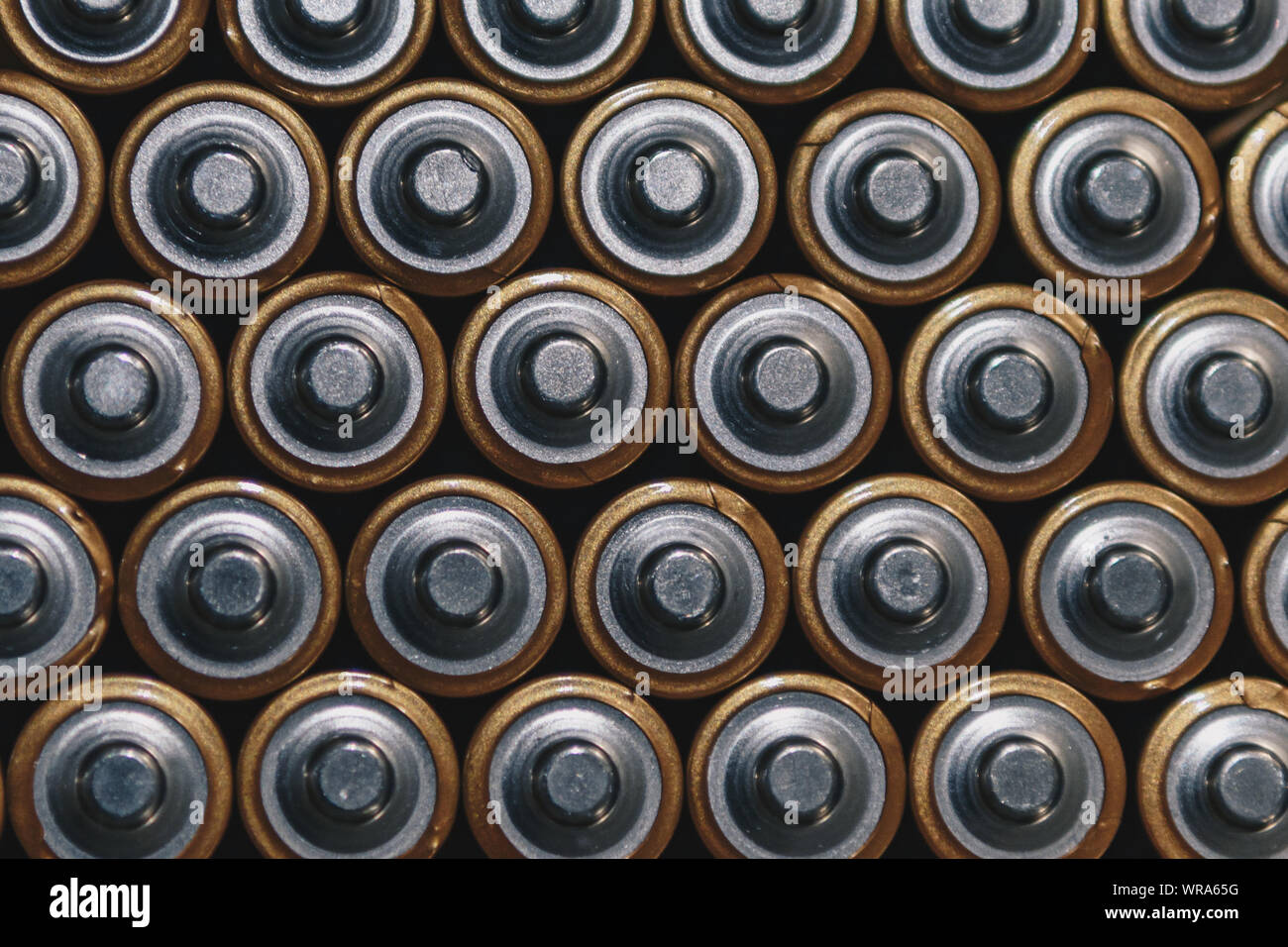 Full Frame Shot de batteries Banque D'Images