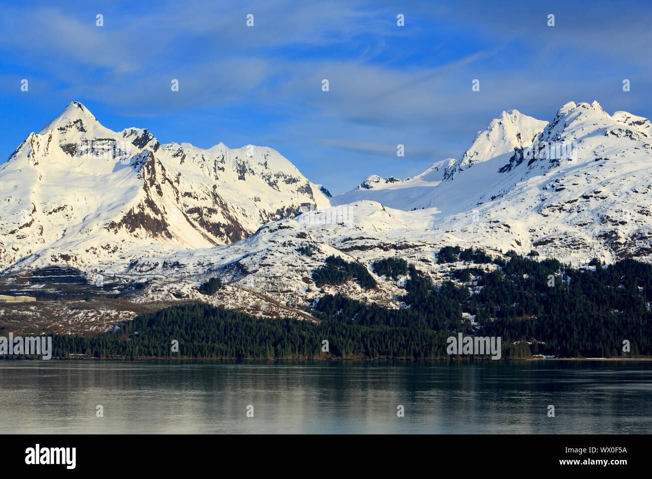 Prince William Sound, Valdez, Alaska, États-Unis d'Amérique, Amérique du Nord Banque D'Images
