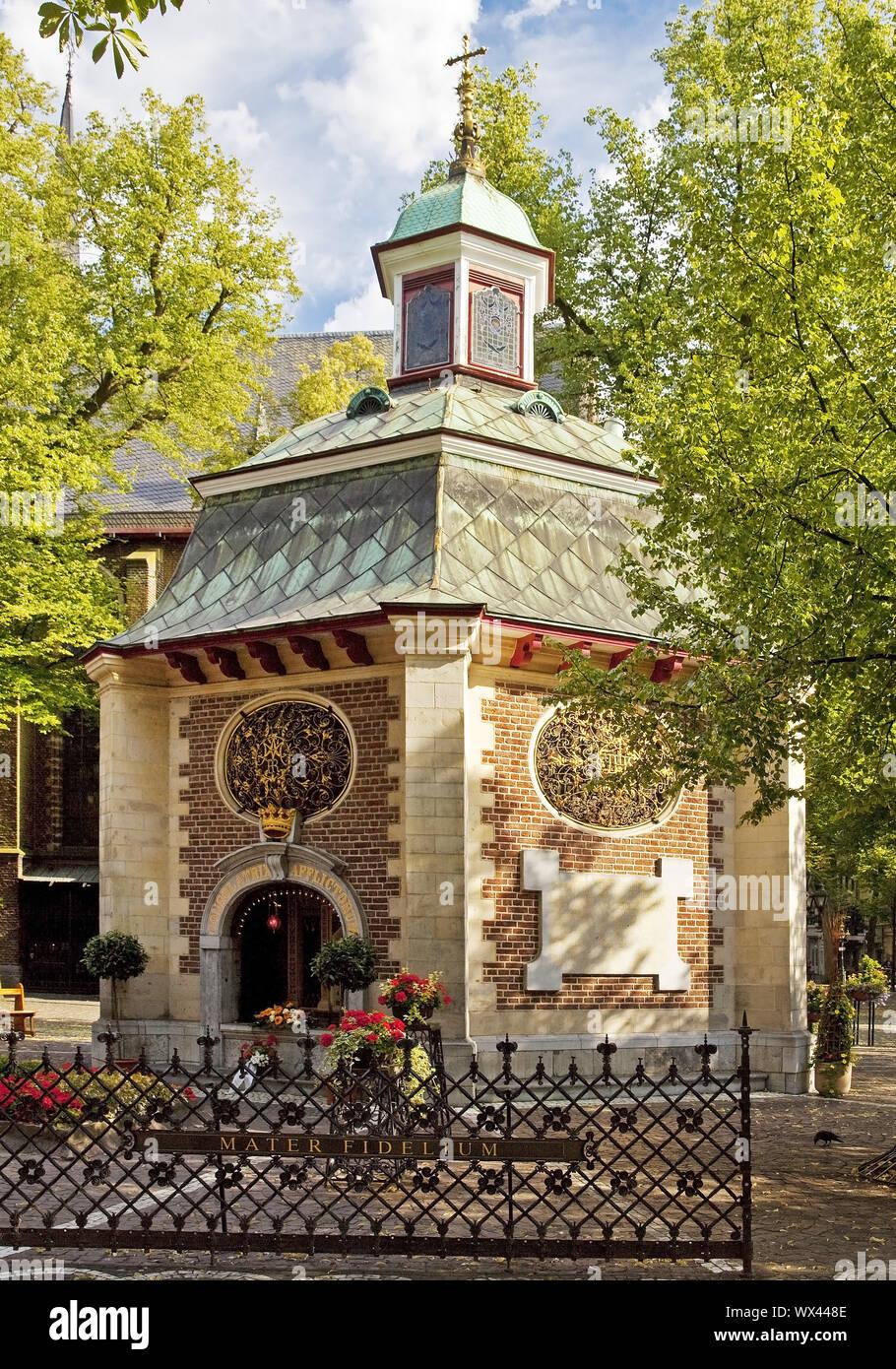 Chapelle de Grâce, lieu de pèlerinage, Kevelaer, Bas-rhin, Nordrhein-Westfalen, Germany, Europe Banque D'Images