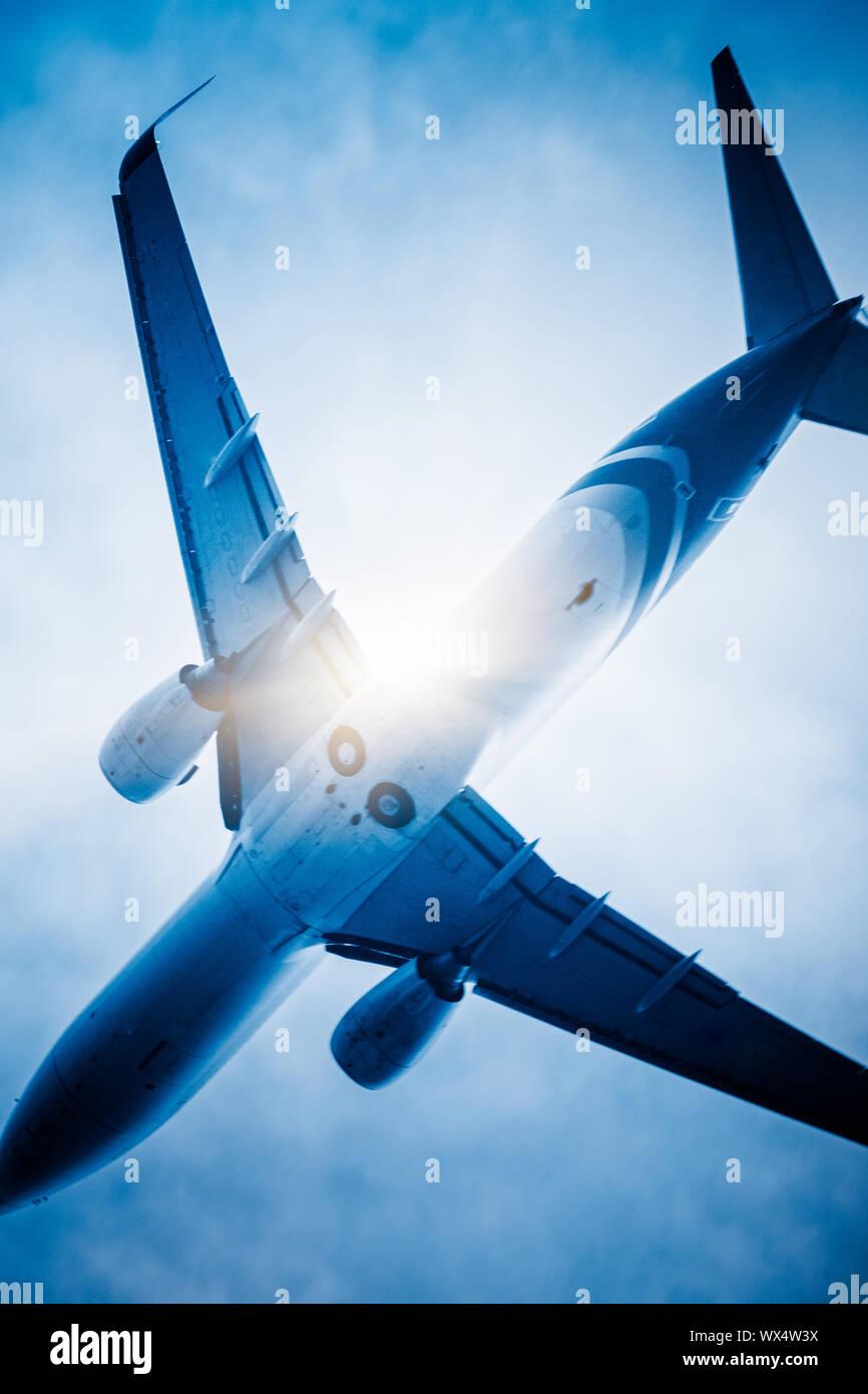 avion Banque D'Images