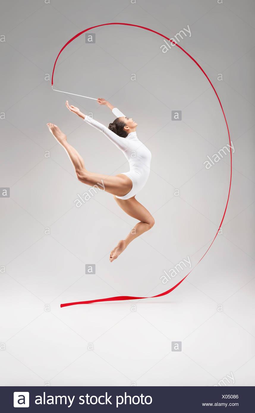 Acrobat Photo Stock