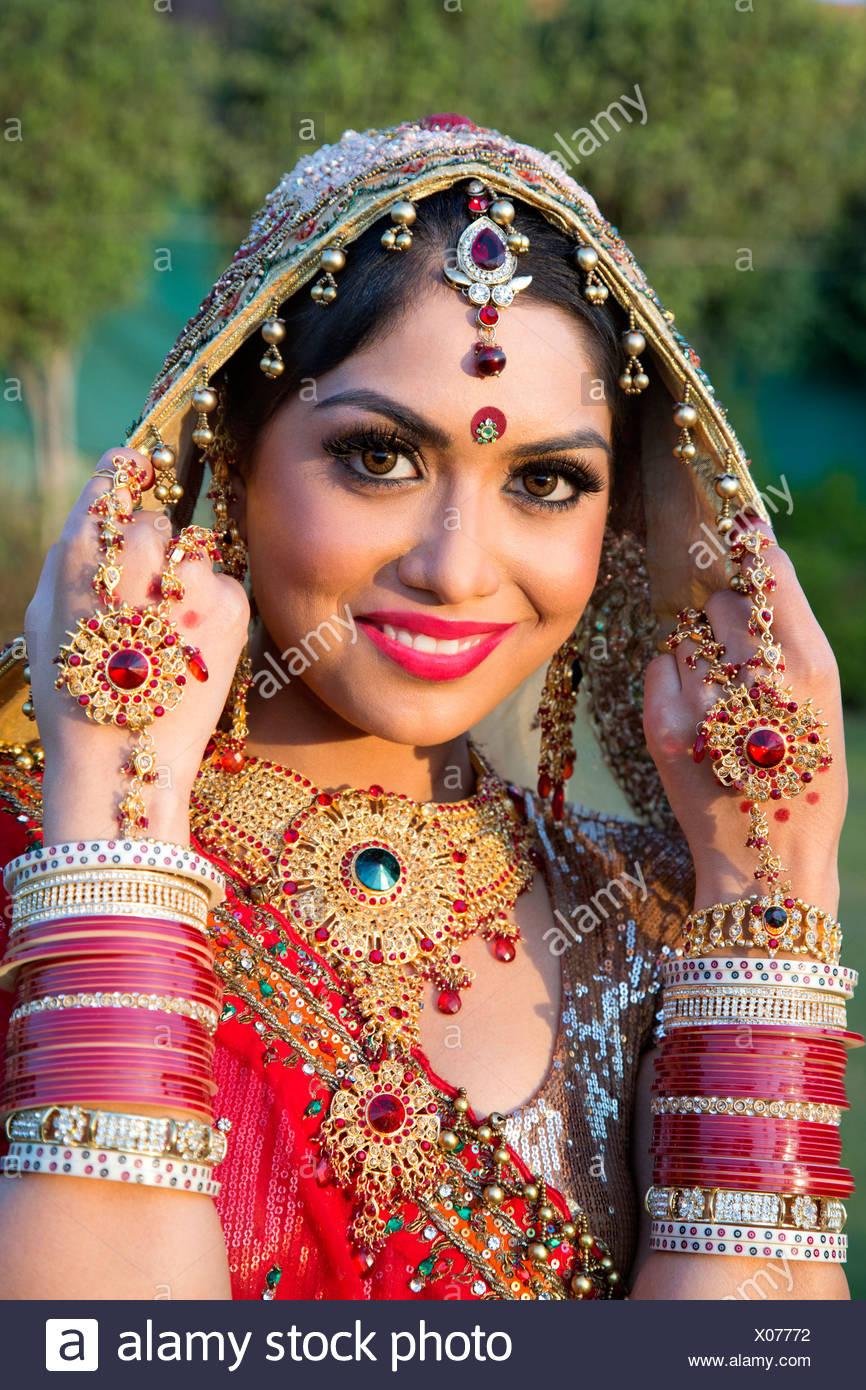Robe de mariee traditionnelle indienne