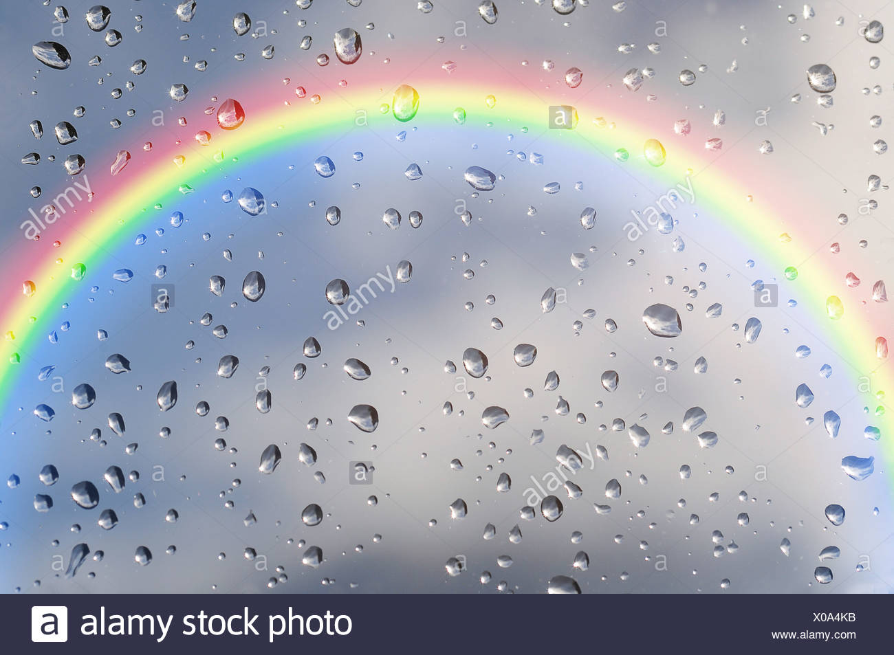 Arc en ciel Photo Stock