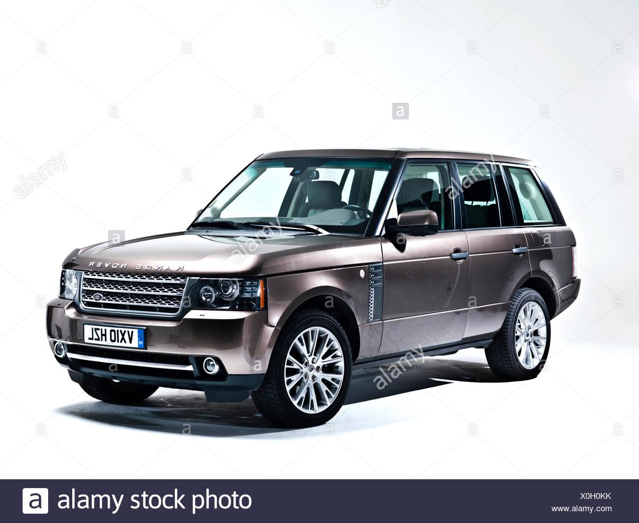 La troisième génération de Range Rover, Londres, 1911 2010 Photo Stock
