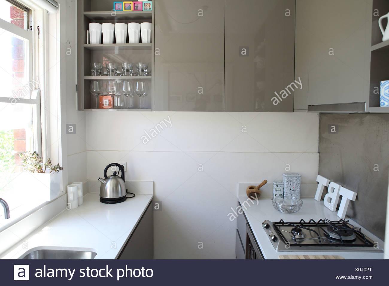 Appartement A Sydney Petit Coin Cuisine Avec Plan De Travail