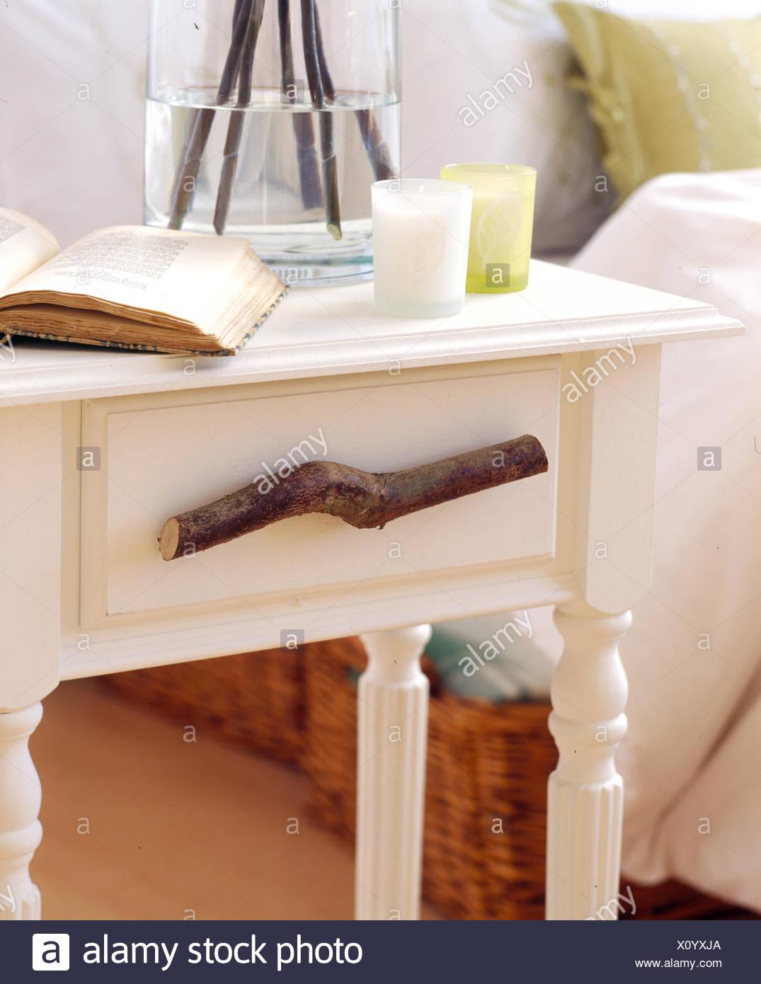 de branche tiroir table de poignée fait de Libre chevet de 7vb6yIgfY
