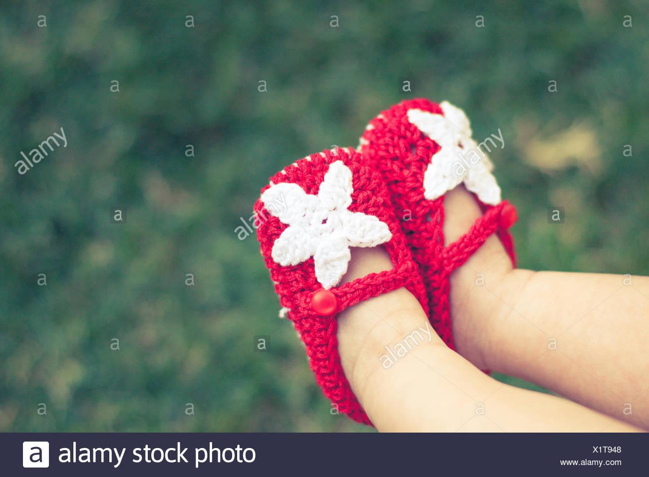 Chaussures de bébé Photo Stock
