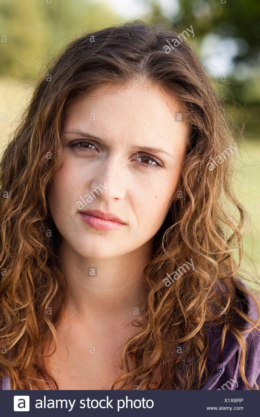 jeune femme triste Photo Stock