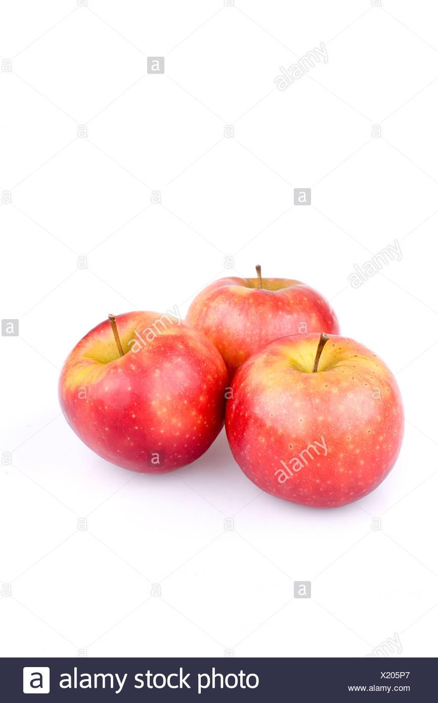 Trois pommes Ingrid Marie Photo Stock