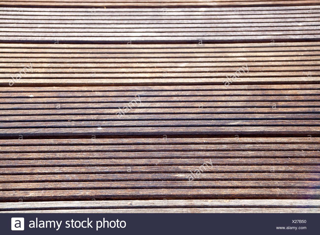 platelage robuste Photo Stock