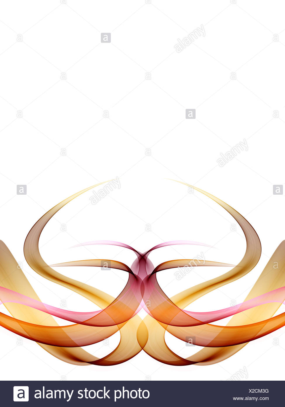 Progression abstract design Photo Stock