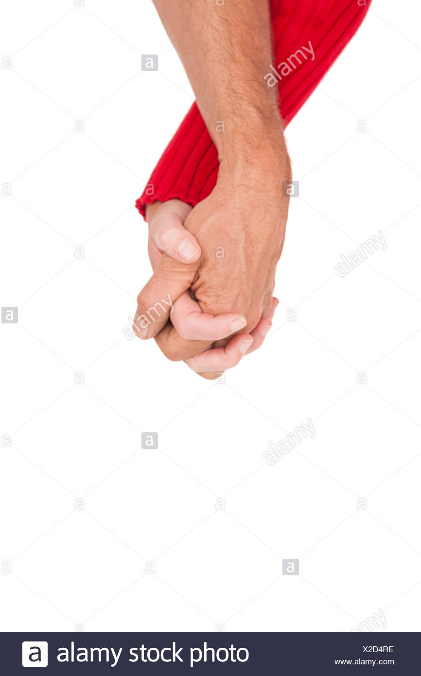Close up of holding hands Photo Stock