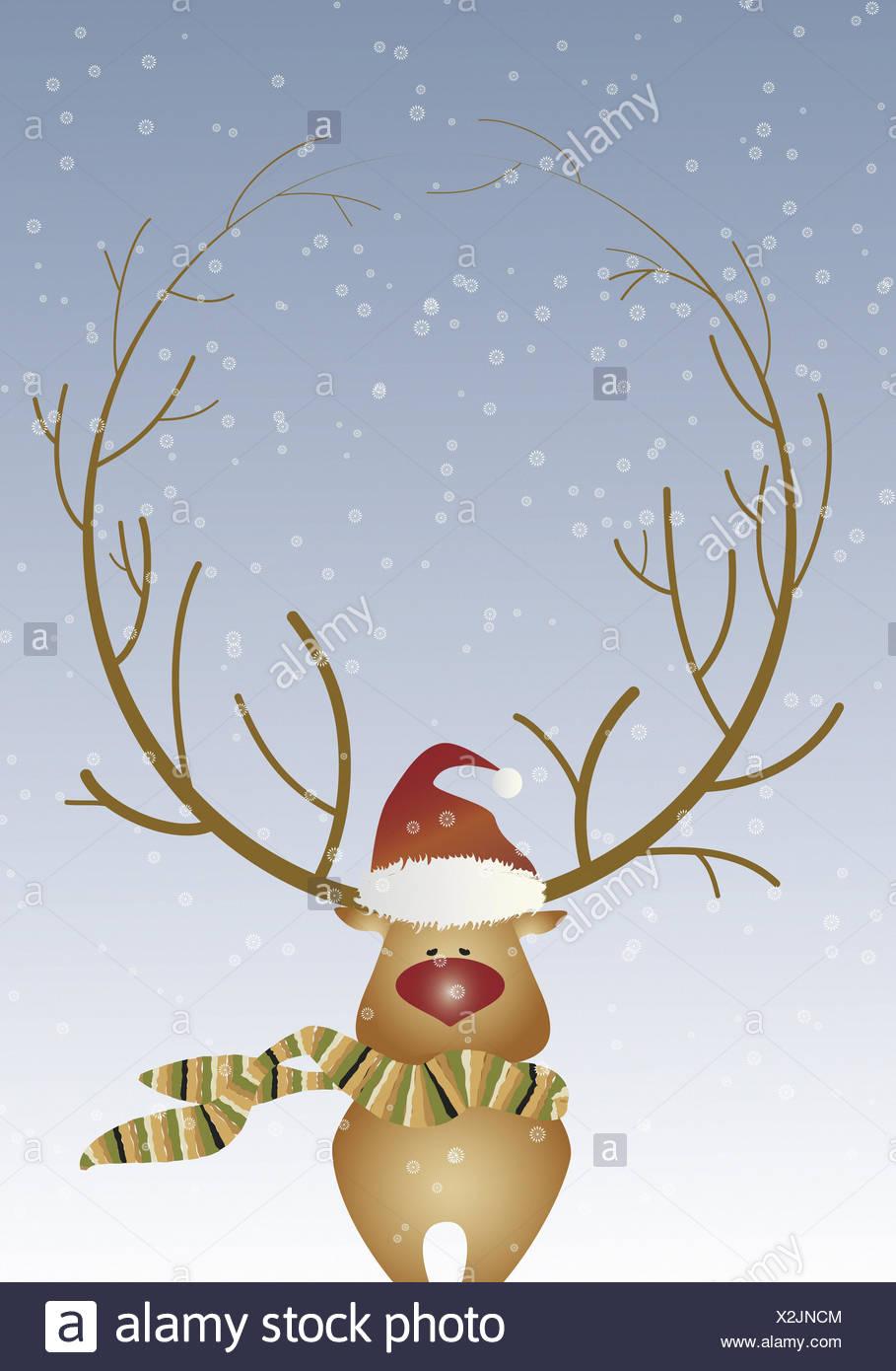 reindeer illustration photos reindeer illustration. Black Bedroom Furniture Sets. Home Design Ideas