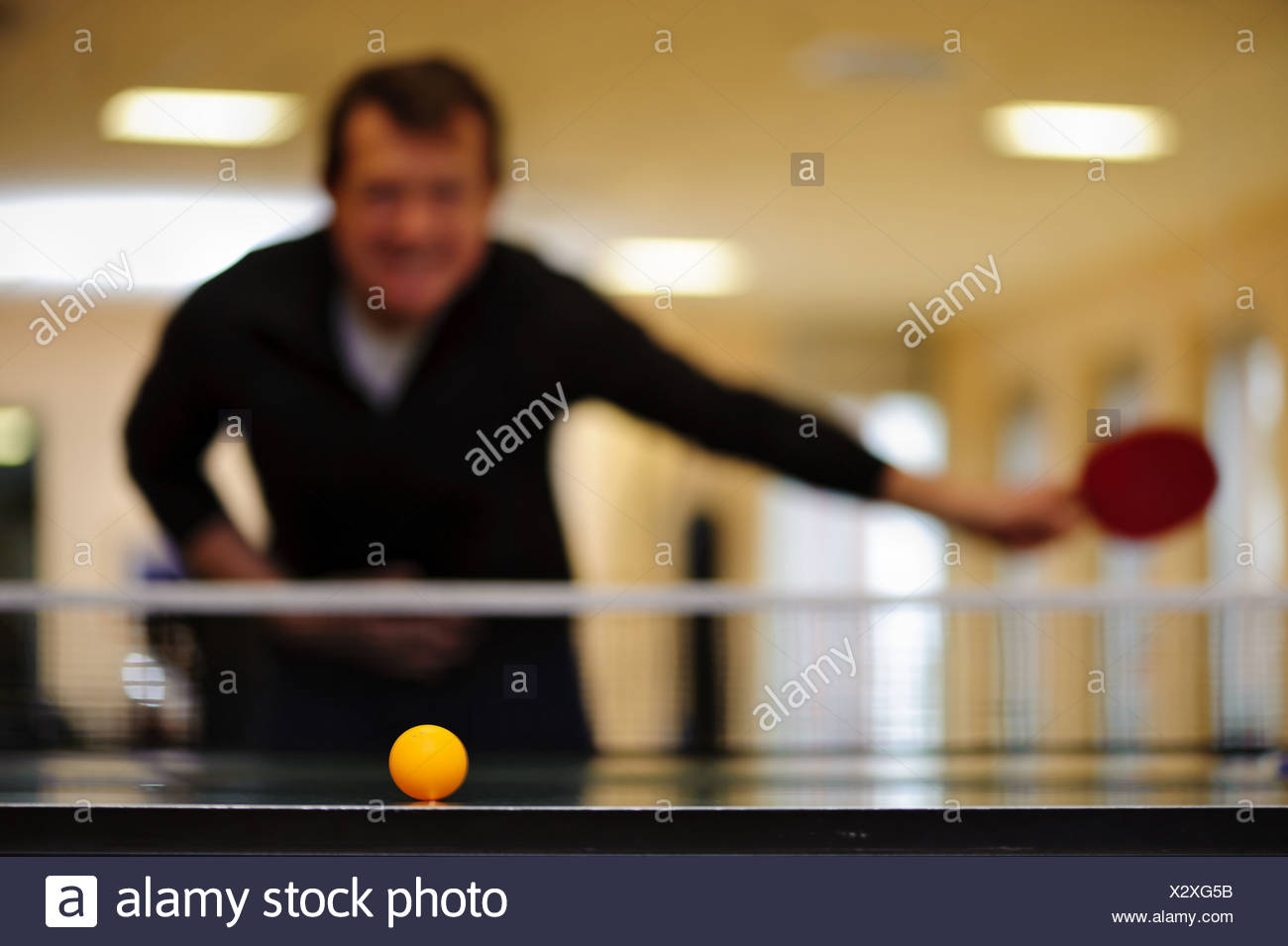 Tennis de table Photo Stock