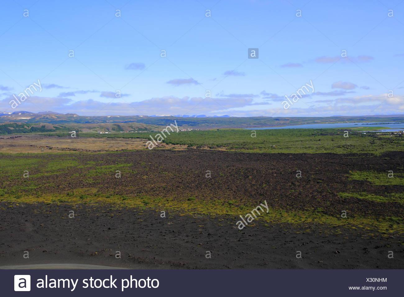 L'énergie géothermique en Islande Photo Stock