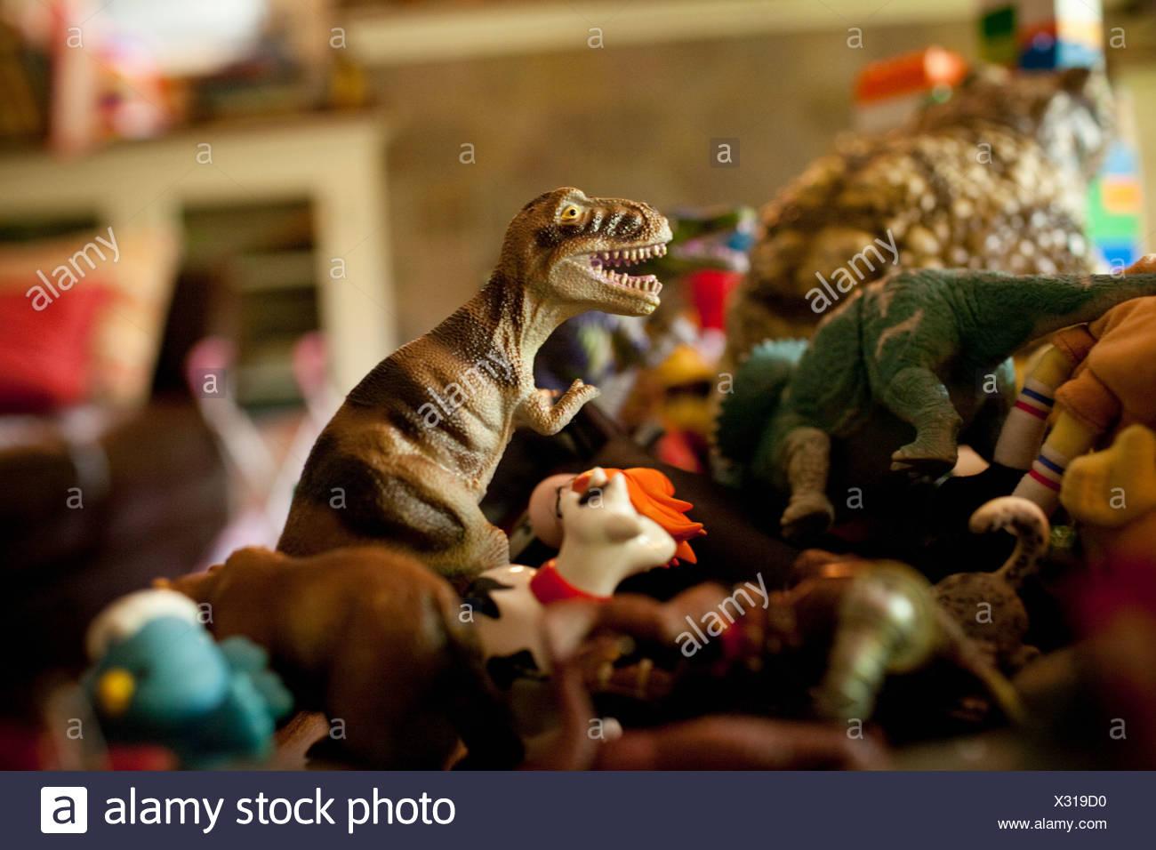 Les jouets de la petite enfance, Close up Photo Stock