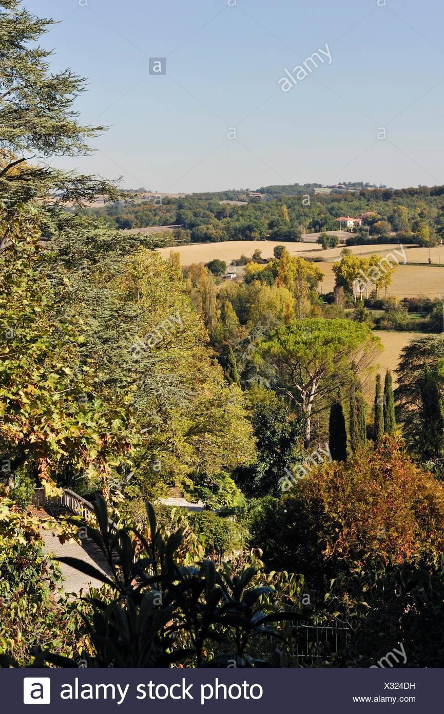 Architecte Paysagiste Midi Pyrénées paysage autour de montesquiou, gers, midi-pyrénées, sud